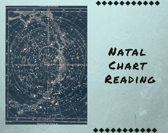 Astrological chart | Etsy