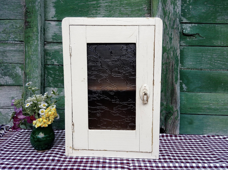 Antique Vtg Kitchen Cabinet Cupboard Rustic Kitchen Etsy