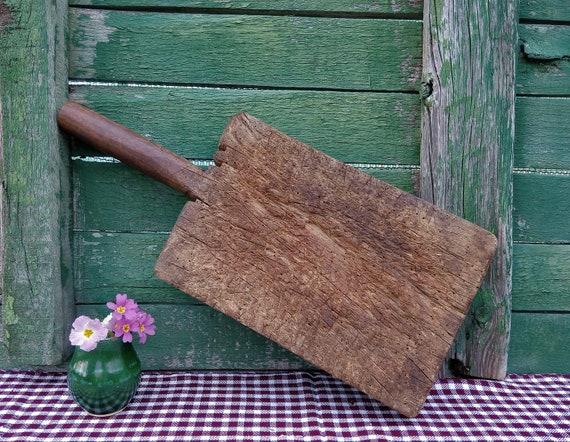 Frühen Antiken Holz Block Holz Schneidebrett Fleisch | Etsy