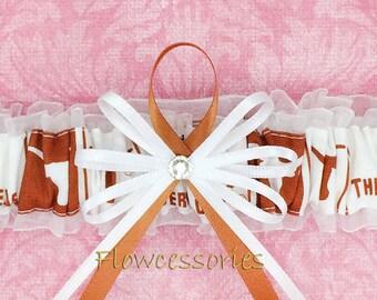 University of Tennesse Vols Wedding Garter Lingerie Game Day Leg Garter