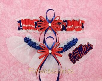 293392087 Pick Charm - University of Mississippi Rebels - Ole Miss Rebels handmade bridal  wedding garters - keepsake garter set