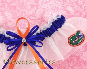 Handmade Fabric Florida Gators Square Tissue Box Cover ONLY A10