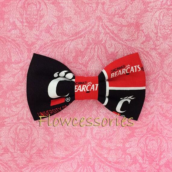 University of CINCINNATI BEARCATS UC premade bow ties