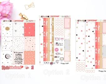Love Mini Sticker Kit for Erin Condren and TN Planner