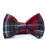 Boys Holiday Bowties - Baby Bow Ties - Red Plaid Bow Ties for Boys - Boys Ties - Bow Ties for Boys - Baby Bowtie - Baby Christmas Bow Ties