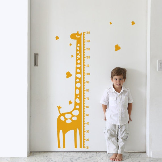 19 Lovely Height Chart Wall Decal