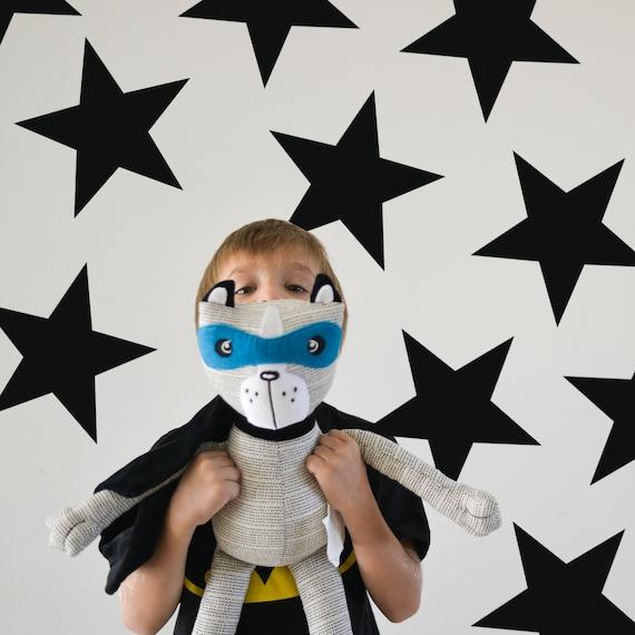 Jumbo Stars Decals, Kids wall decoration, Nursery Wall Decal