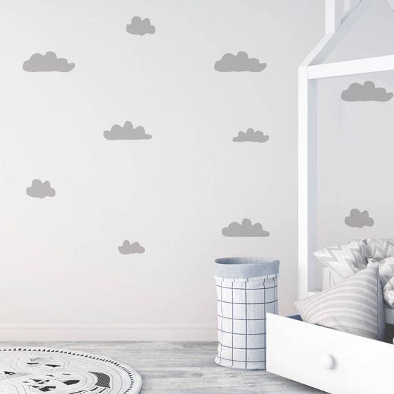 Raw Cloud Wall Decals