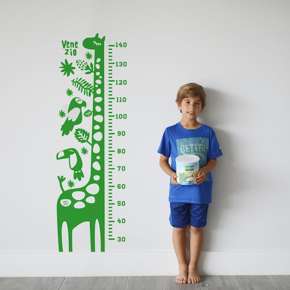 The Hero Growth Chart Decal