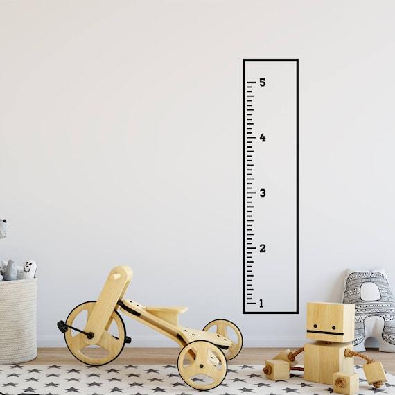 Growth Chart Decal: Minimalistic Sticker Height Chart Wall decal / Ruler Decal Nursery decor / Kids room decor / minimalistic