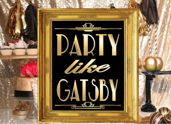 Party Wie Gatsby Party Dekoration Roaring Zwanziger Jahre Etsy