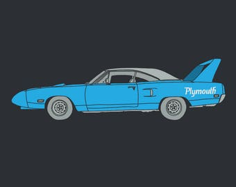 1970 Plymouth Road Runner Superbird - Limited run print