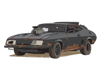 Mad Max Interceptor - Iconic move cars collection