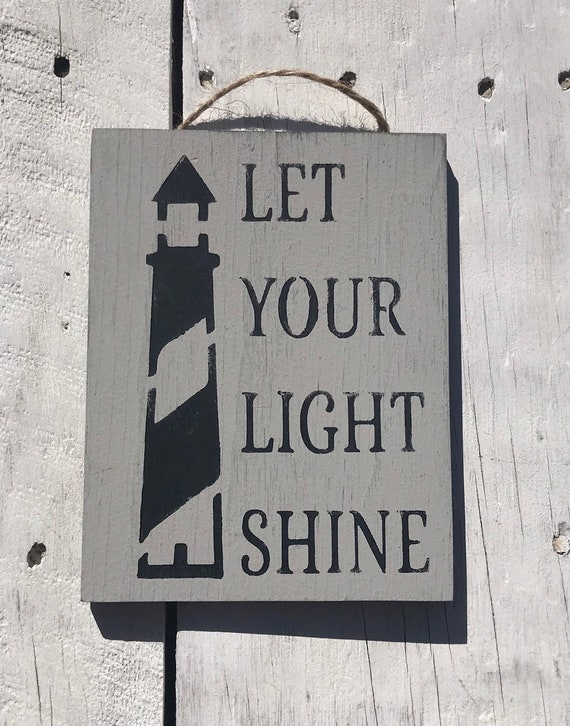 Let Your Light Shine Inspirational Quotes Inspirational Kids Etsy