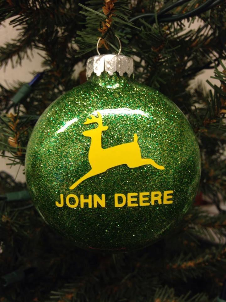 Holiday Christmas Tree Ornament John Deere   Etsy