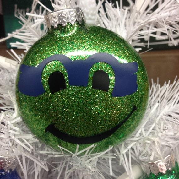 Ninja Turtle Christmas Tree.Holiday Christmas Tree Ornament Teenage Mutant Ninja Turtle Leonardo Blue