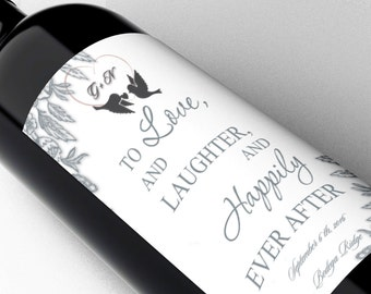 Customized Gifts For Him, Gifts For Her, Wine labels For Wedding, Wine Label Thank you, Wine Labels For Baby Shower, Wine Labels Baby, Wine
