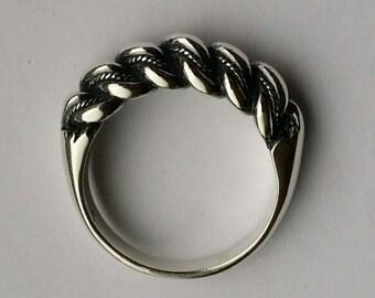 Handmade Sterling Silver Namejs Ring