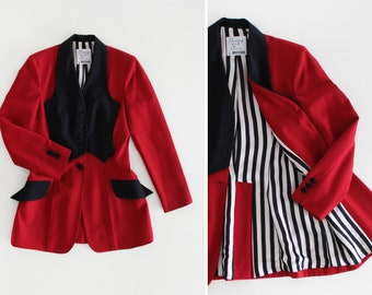 6e100793ac963a MOSCHINO Cheap and Chic 80s Circus Tamer Jacket Blazer