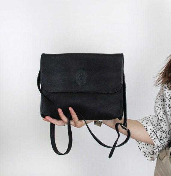 YVES SAINT LAURENT Vintage 70s 80s Shoulder Bag