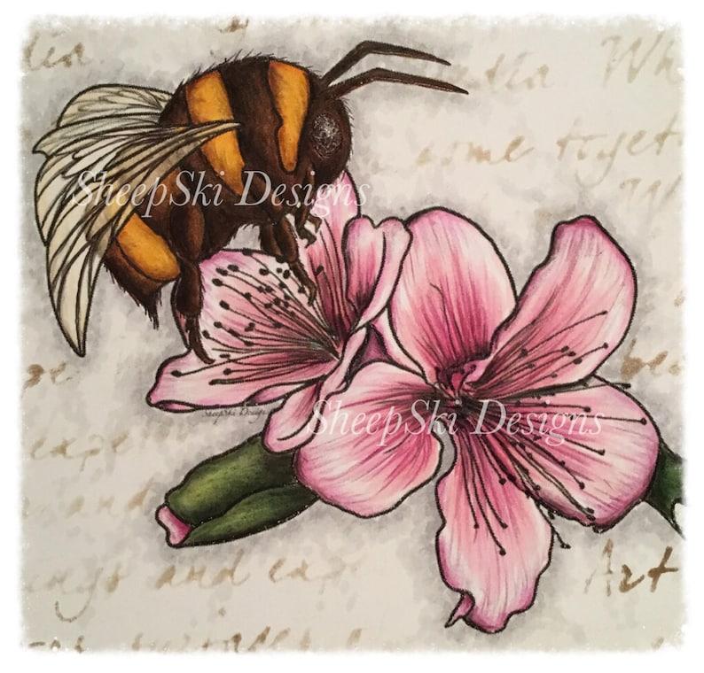 Bumble Bee Blossom  image no 90 image 0