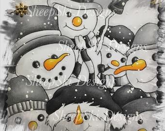 Snowmen Selfie - image no 100