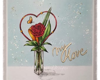Heart & Rose  - image no 133