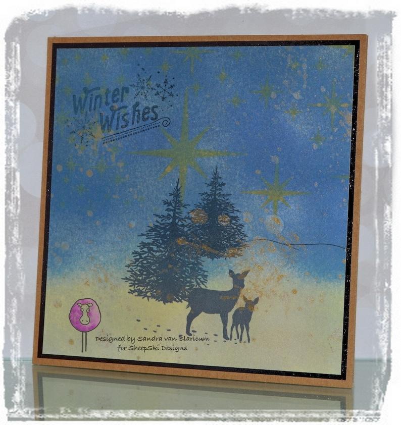 Winter Deer image no 195