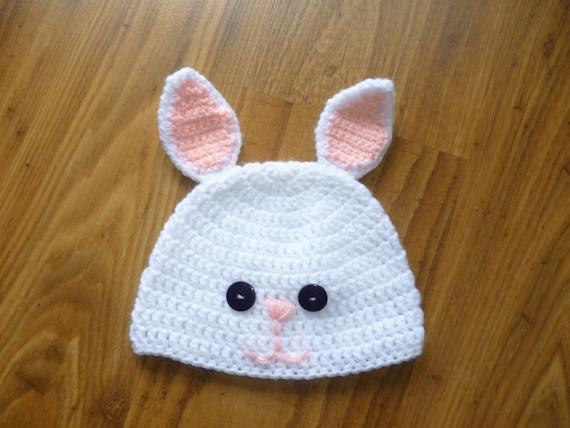 5911e08e431 bunny hat  bunny ears beanie  crochet bunny cap  bunny beanie