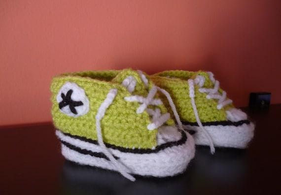 Gehäkelte Babyschuhe Hausschuhe Häkeln Häkeln Turnschuhe Etsy
