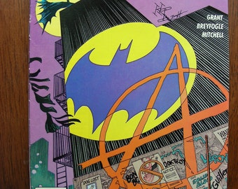 Batman Detective Comics #608 FN, First Anarky, Alan Grant, Norm Breyfogle, DC Comics