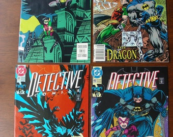 Batman Detective Comics Lot of 4 #649-652 VF, Huntress Chuck Dixon Graham Nolan, DC Comics