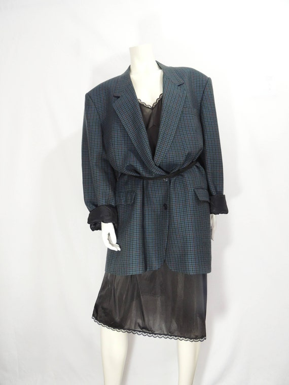 Vintage Oversized Wool Blazer