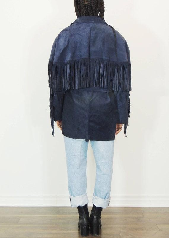 Fringe Suede Jacket - image 3
