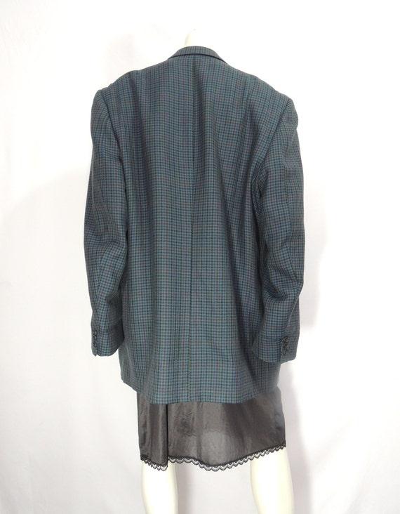Vintage Oversized Wool Blazer - image 4