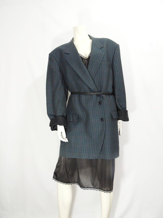 Vintage Oversized Wool Blazer - image 2
