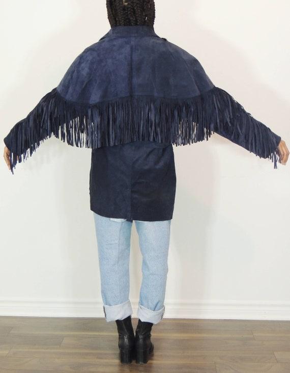 Fringe Suede Jacket - image 4