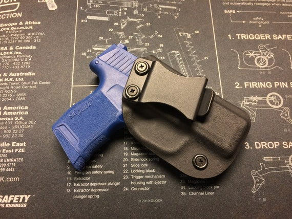 SALE ! SIG Sauer p365 Kydex iwb Holster - BLACK / Right Hand
