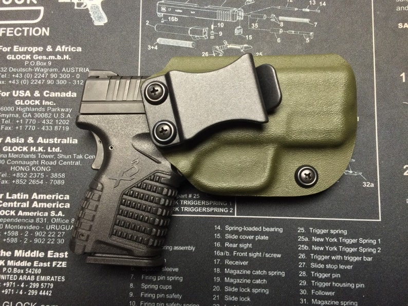 SALE ! Springfield Armory XDS 3 3 (9/40/45) Kydex Holster / IWB / ccw /  Right Hand