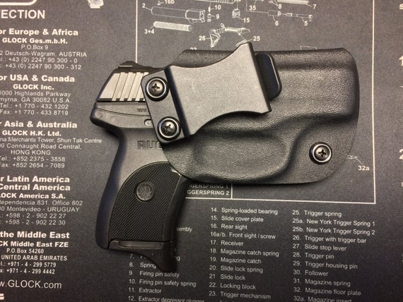 SALE ! Ruger LC9 / LC9s / LC380 / EC9s Kydex Holster - BLACK / CCW / Right  Hand