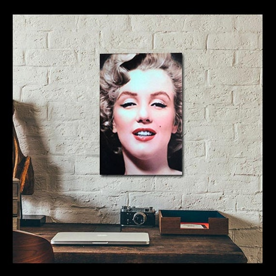 Marilyn Monroe Canvas Printcanvas Wall Artmarilyn Monroe Etsy