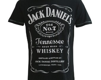 Jack Daniels Tennessee Whiskey Official Tee T-Shirt Mens Unisex