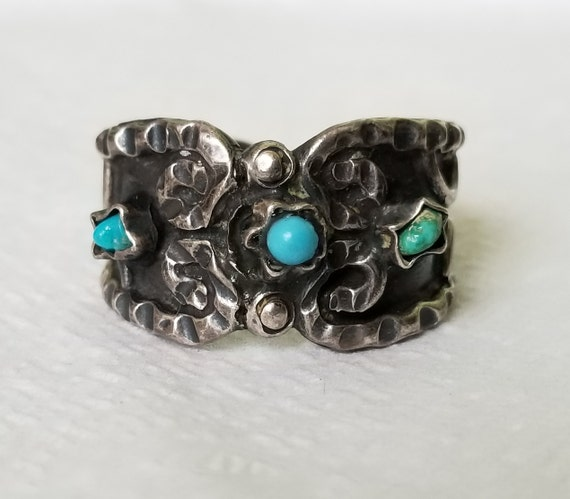 Sterling Silver Mexican Ring