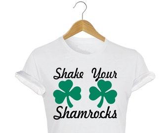 St Patrick's Day Shake Your Shamrocks T-Shirt