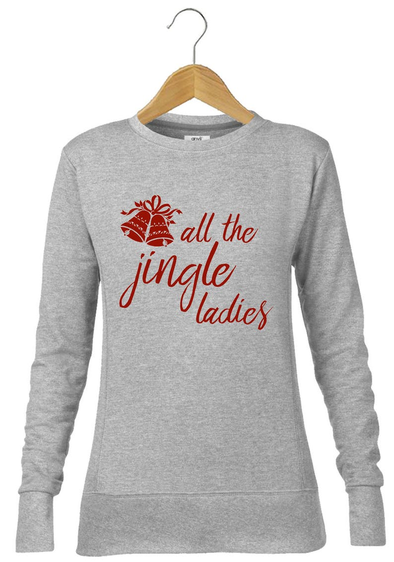 Christmas Dinner Printed T-shirt long Sleeve Unisex Xmas jumper alternative
