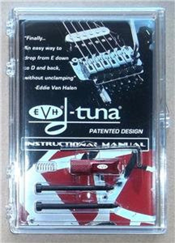 NEW EVH® D-Tuna Drop D Tuning System For Floyd Rose® Tremolo Bridges CHROME
