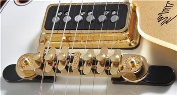 Gretsch® Synchro-Sonic Nickel Guitar Bridge~Black Base~0062758000~USA~Brand New