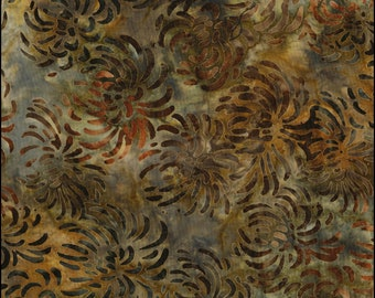 Lunn Batik - SPIDER MUM SOLID lsbc-1649a-16 Brown