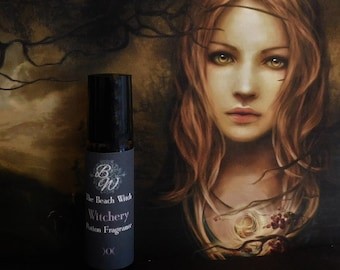 WITCHERY PHEROMONES Roll On Oil, Anointing Oil, Potion, Spell Oil, Fragrance Oil, Potion, Wicca, Witchcraft Pagan ~ The Beach Witch ~ 1/3 oz