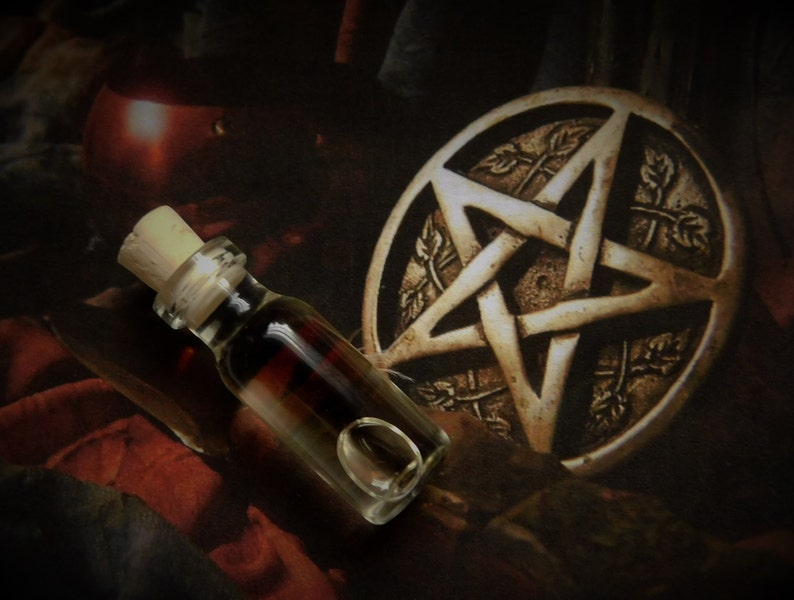 WICCA Ritual Oil, Anointing Oil, Initiation Oil, Dedication Oil, Altar Oil,  Potion, Wicca, Witchcraft, Pagan